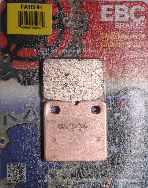 EBC Double-H Sintered Brake Pads FA18HH