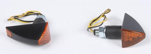 DMP LED MARKER LIGHT FUSES STALK M OUNT BLACK W/AMBER LENS (900-2022)