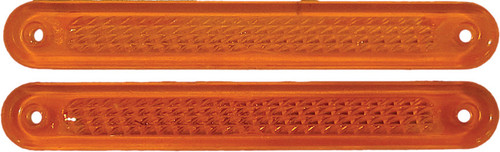 HARDDRIVE 10/PK LICENSE FRAME REPLACEMENT AMBER LENS (28-6027A-L)