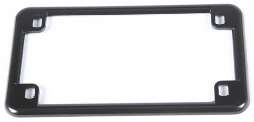 CHRIS PRODUCTS LICENSE PLATE FRAME (BLACK) (0610)