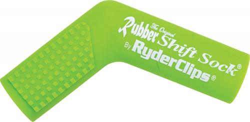 RYDER CLIPS RUBBER SHIFT SOCK (GREEN) (RSS-GREEN)