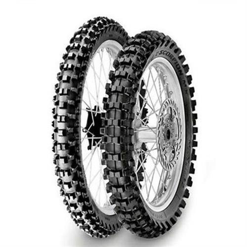PIRELLI TIRE 110/100-18R XCMS SCORPION XC MIDSOFT (1767700)