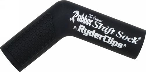 RYDER CLIPS RUBBER SHIFT SOCK (BLACK) (RSS-BLACK)