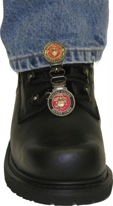 RYDER CLIPS LACED BOOT TYPE (USMC RED) (MCBRL-FC)