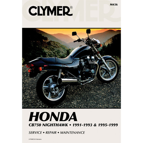 Clymer M436 Service Shop Repair Manual Honda CB750 Nighthawk 1995-1999
