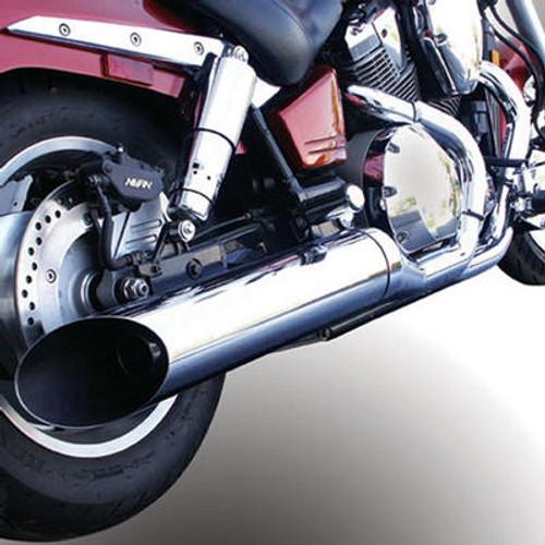 Jardine Rumbler Chrome Slip On Only Exhaust System Pipe Muffler Honda VTX1800C 01-09