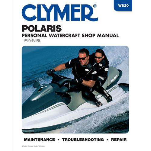 Clymer W820 Service Shop Repair Manual Polaris Prsnl Watercraft 96-98