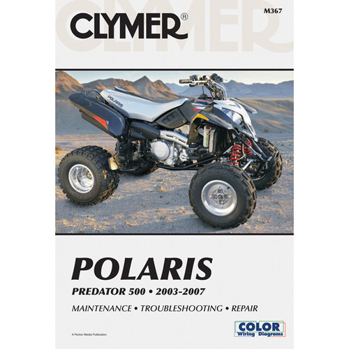 Clymer M367 Service Shop Repair Manual Polaris Predator 2003-2007
