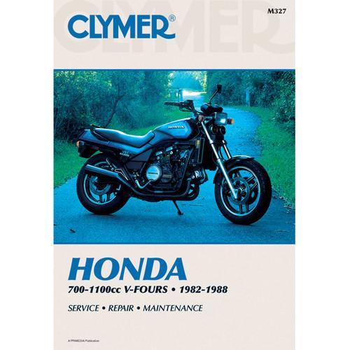 Clymer M327 Service Shop Repair Manual Honda 700-1100cc V-Fours 82-88