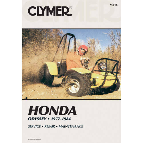 Clymer M316 Service Shop Repair Manual Honda Odyssey 77-84