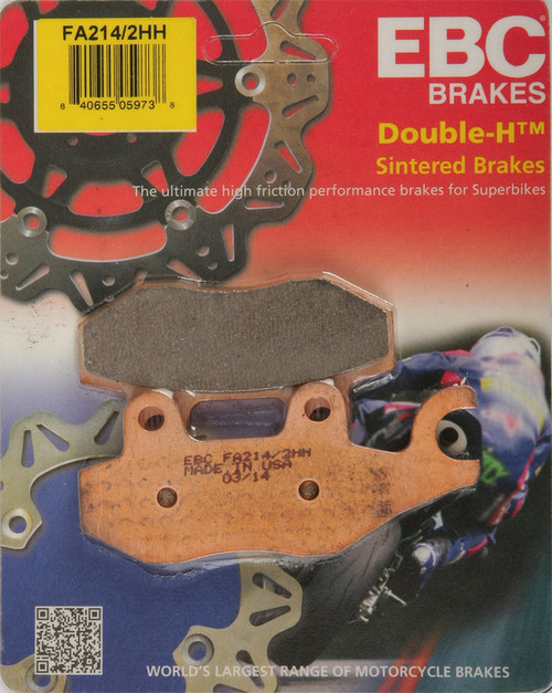EBC Double-H Sintered Metal Brake Pads FA214 2HH