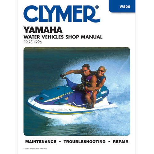 Clymer W806 Service Shop Repair Manual Yamaha Prsnl Watercraft 93-96