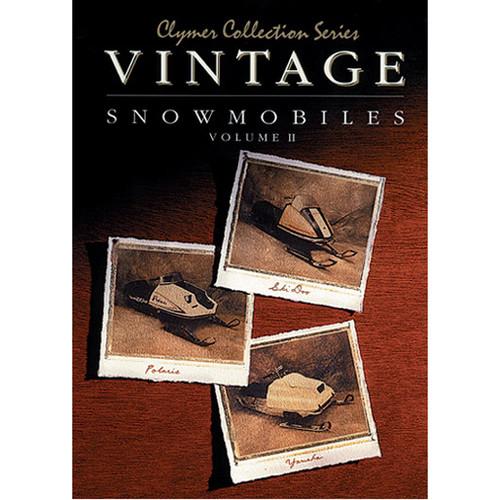 Clymer S821 Service Shop Repair Manual Vintage Snowmobile Vol 2