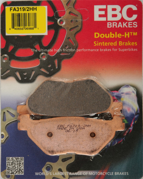 EBC Double-H Sintered Metal Brake Pads FA319 2HH