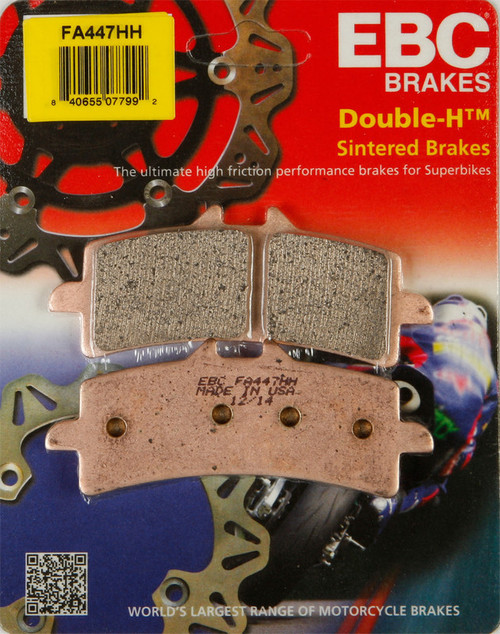 EBC Double-H Sintered Metal Brake Pads FA447HH