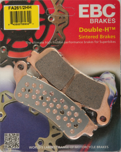 EBC Double-H Sintered Metal Brake Pads FA261 2HH