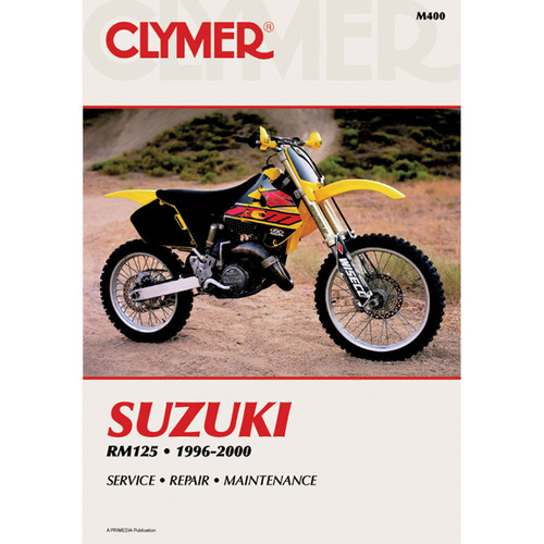 Clymer M400 Service Shop Repair Manual Suzuki RM125 1996-2000