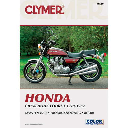 Clymer M337 Service Shop Repair Manual Honda CB750 DOHC Fours 79-82