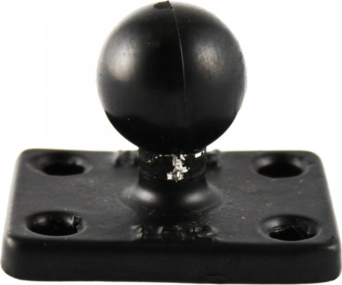 "RAM RECTANGLE BASE W/1"" BALL 1.5""X2"" (RAM-B-202U-152)"