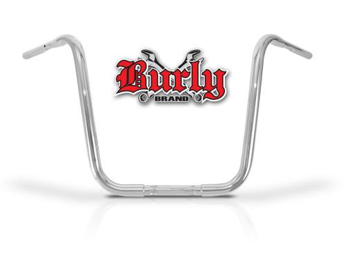 """Burly Apehangers 16"""" Chrome 1.25"""" Tube (B28-315T)"""