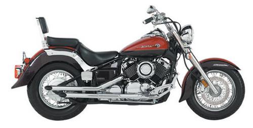 Jardine Rumbler Chrome Full Exhaust Muffler Yamaha 650V-STR/DR ST/04-5 NON 97-03