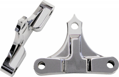 """ACCUTRONIX TRIBAL FENDER SPACERS CHROME 49MMX7/8"""" (TFS49-NF7/8C)"""