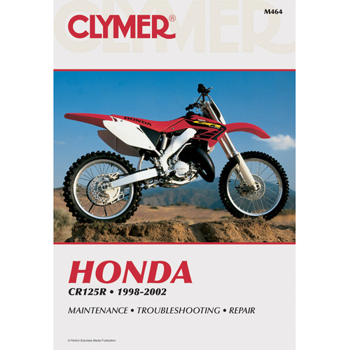 Clymer M464 Service Shop Repair Manual Honda CR125 1998-2002