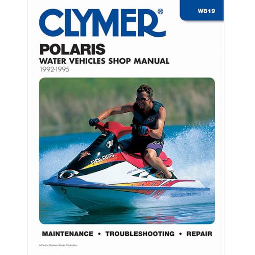 Clymer W819 Service Shop Repair Manual Polaris Prsnl Watercraft 92-95