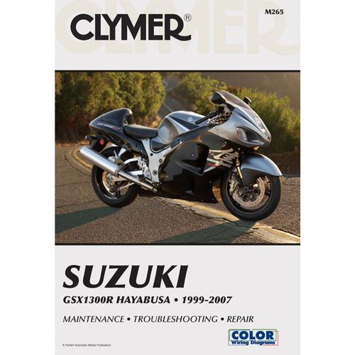 Clymer M265 Service Shop Repair Manual Suzuki GSX1300R Hayabusa 99-07
