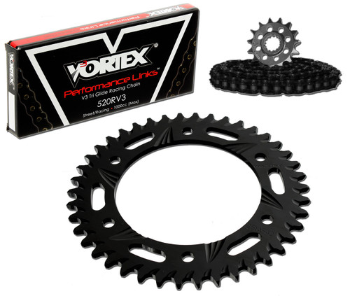Vortex CK5267 Chain and Sprocket Kit GFRA SUZ GSX-R1000 09-15 (1D,ALU)