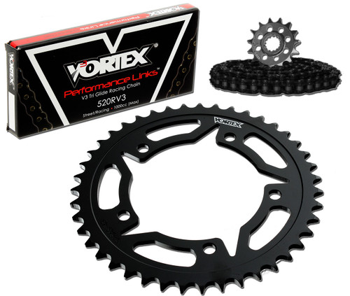Vortex CK6141 Chain and Sprocket Kit GFRS YAM FZS1000 / FZ1 06-09 (1D,STL)