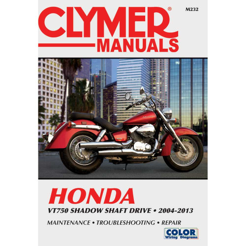 Clymer M232 Service Shop Repair Manual for Honda VTX750