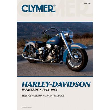 Clymer Harley-Davidson Panheads Manual M418