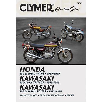 Clymer M330 Vintage British Street Bikes Manual 600cc Manual ...