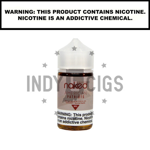 American Patriots - 60 ML (0mg)