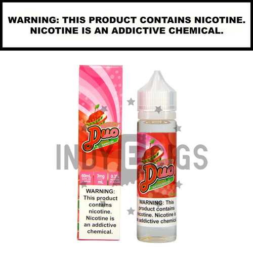 DUO-Apple Watermelon - 60 ML (0mg)