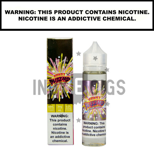 Blizzard Straw Burst - 60 ML (0mg)