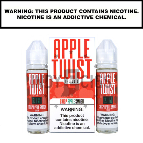 Crisp Apple Smash - 120 ML (3mg)
