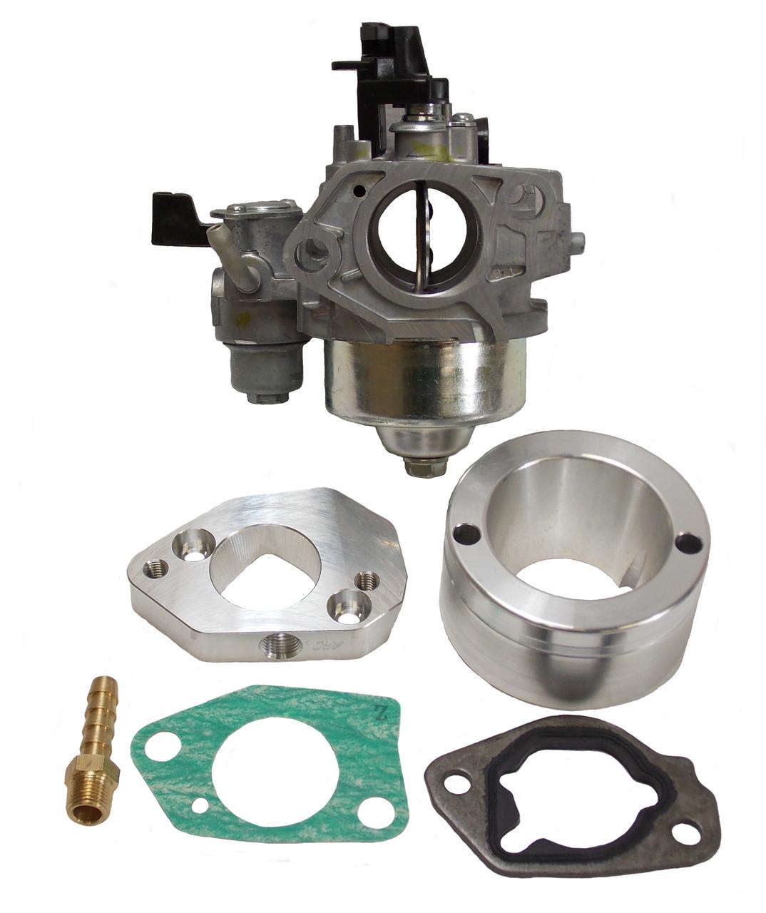 DJ-3225-KIT GX390 to GX200 .900 bore Methanol Carb Kit