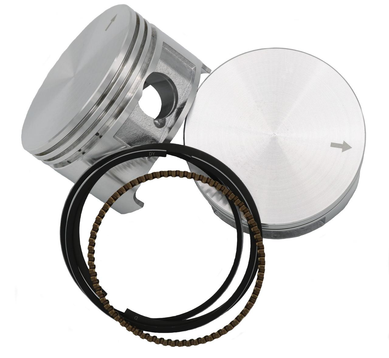 DJ-1285PH2 STD Predator Hemi Flat Top Piston and Rings (NO WP OR CLIPS)