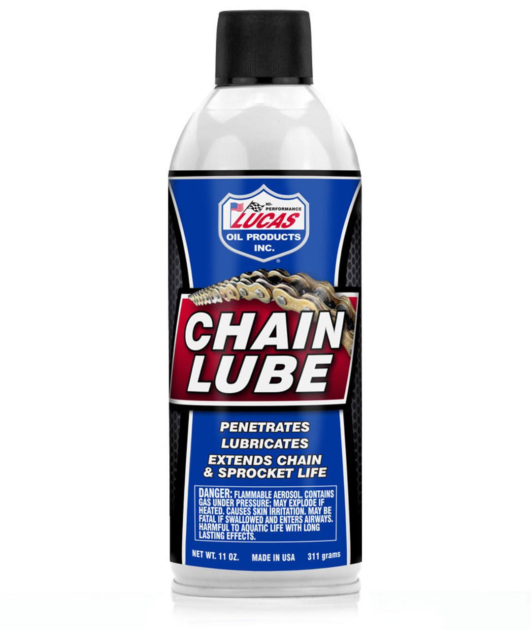 9809 Lucas Aerosol Chain Lube *MUST SHIP UPS GROUND*