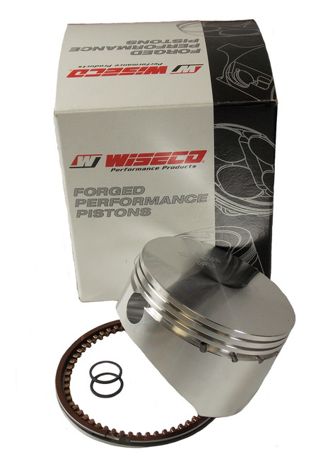"""17-2756XC 2.756"""" 3 Ring Wiseco Piston W/Rings and Clips no Pin"""