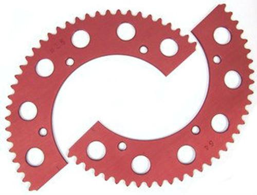 38XX Split Axle Sprocket #35 Chain