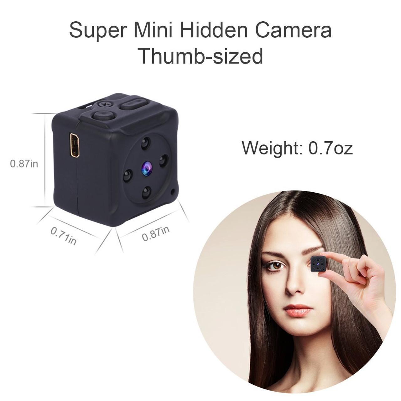 1d45be95ad Mini Magnetic Hidden Spy Camera
