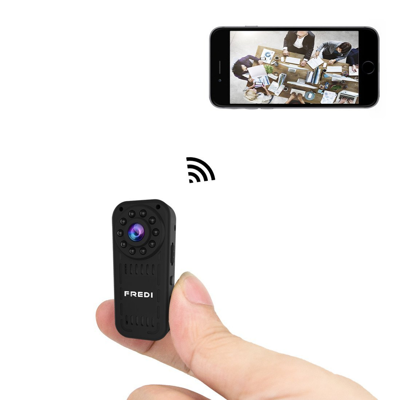 1080p hd mini wifi hidden camera wireless camera for iphone android