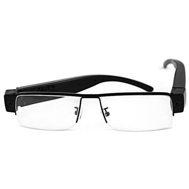 Eyeglasses Hidden Camera with Thin Frames and Built-in DVR 1920x1080