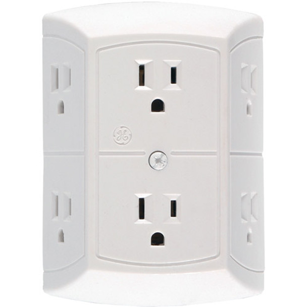 6 Power Outlet WiF + DVR Camera With Wireless Streaming Video for PC, Tablet & more