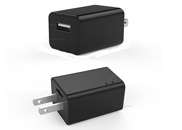 USB Phone Charger with 1080p Camera