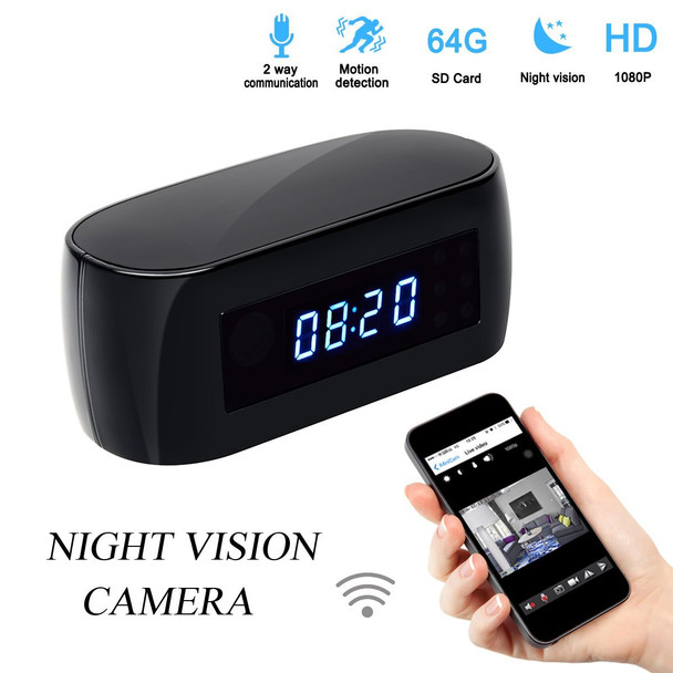 Alarm Clock With Wifi, Motion Detection