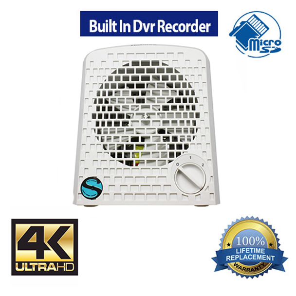 Zone Shield 4K Air Purifier DVR - Up To 128 Gig Sd Card